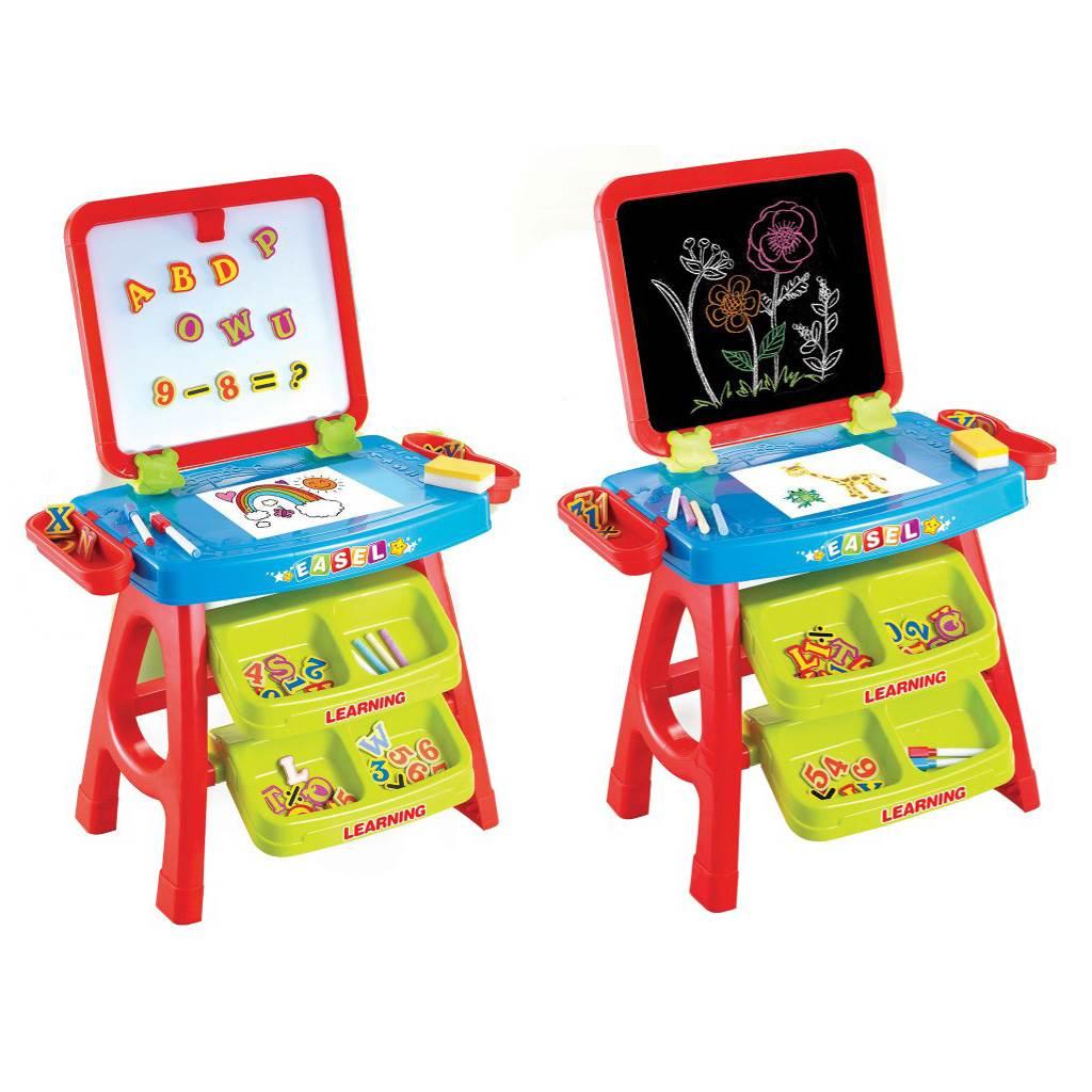 Detská edukačná magnetická tabuľa 3v1 Baby Mix