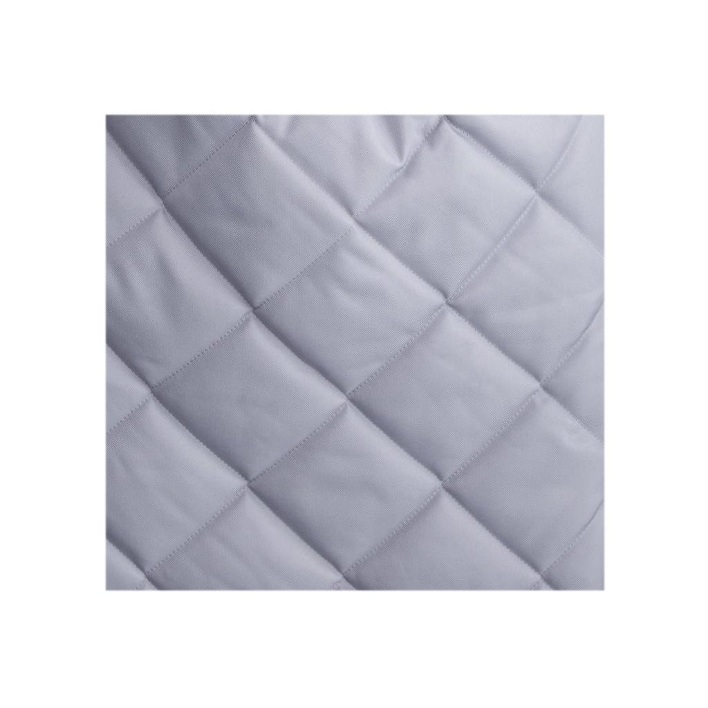 Luxusný fusak Belisima prešívaný svetlo sivý