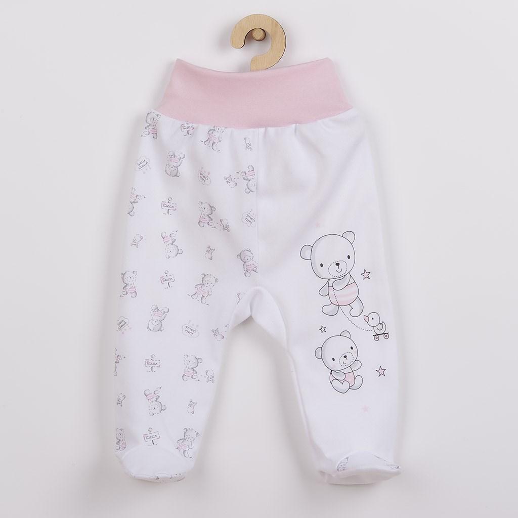 Dojčenské polodupačky New Baby Bears ružové-68 (4-6m)