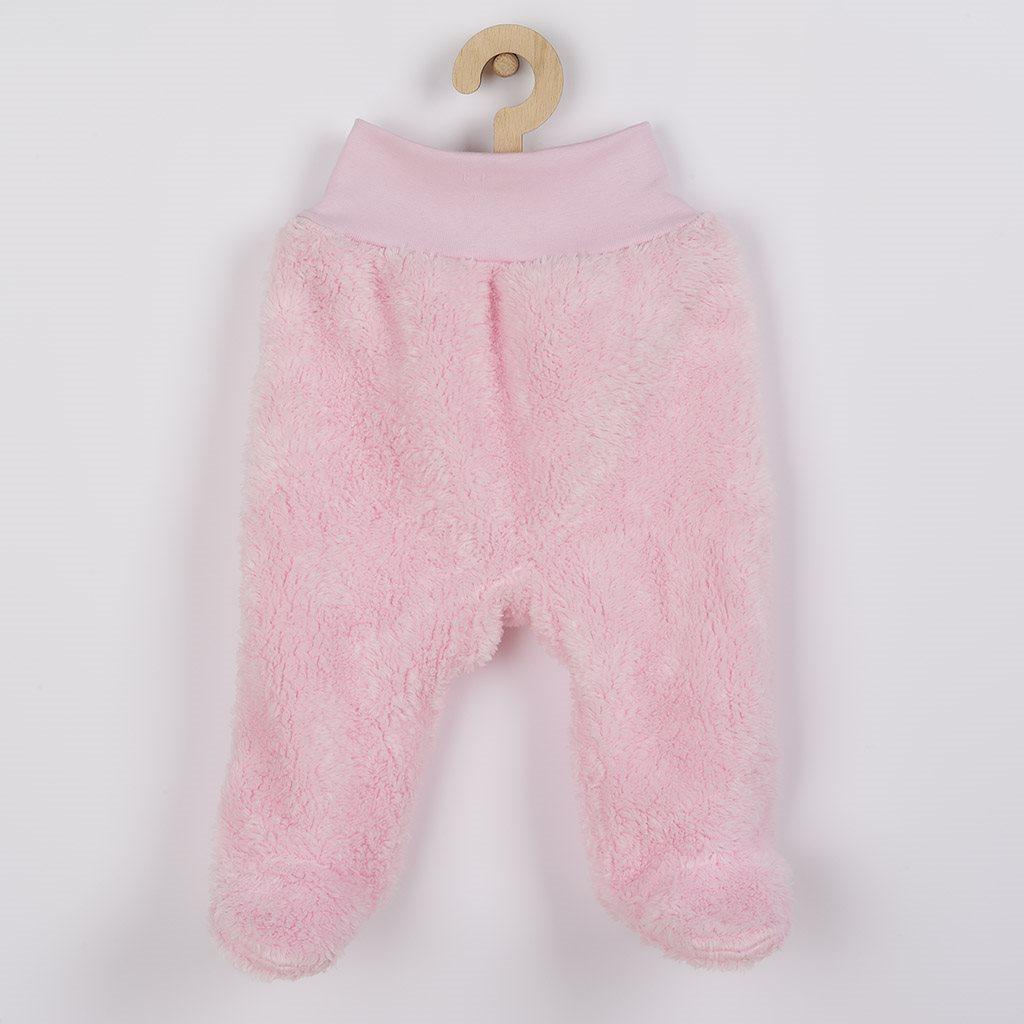Zimné polodupačky New Baby Nice Bear ružové-86 (12-18m)