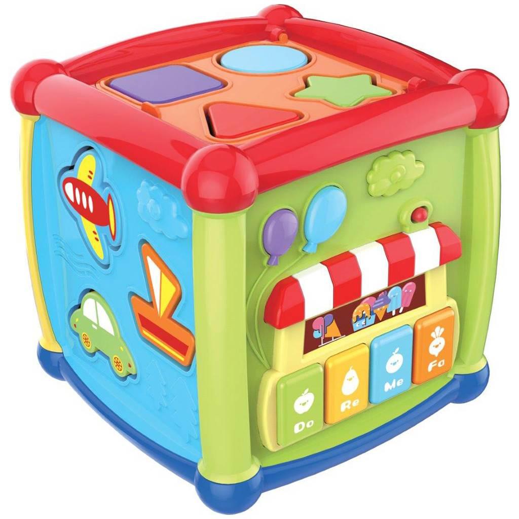 Interaktívna hracia kocka Baby Mix malá
