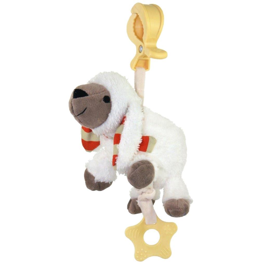 Edukačná hrajúca plyšová hračka Baby Mix ovečka