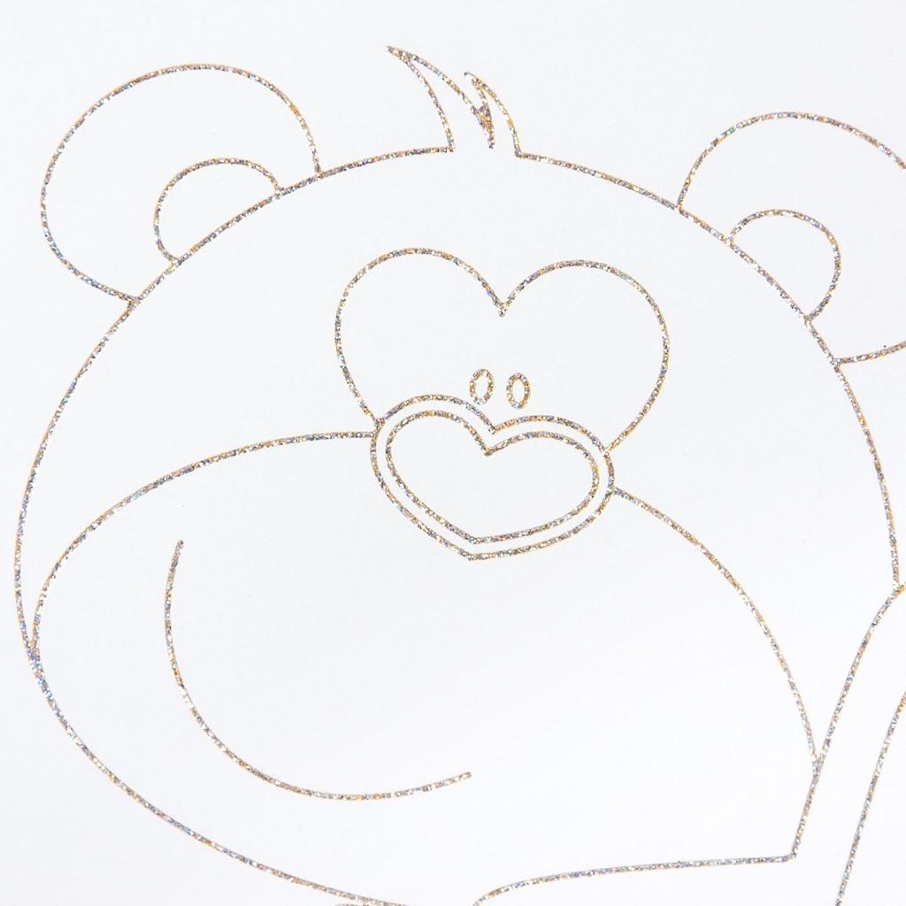 Detská postieľka New Baby Medvedík s hviezdičkou so zásuvkou dub