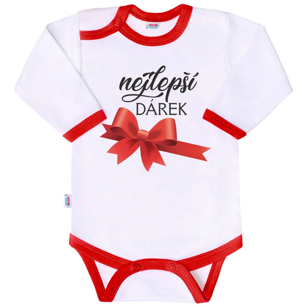 Body s potlačou New Baby nejlepší DÁREK