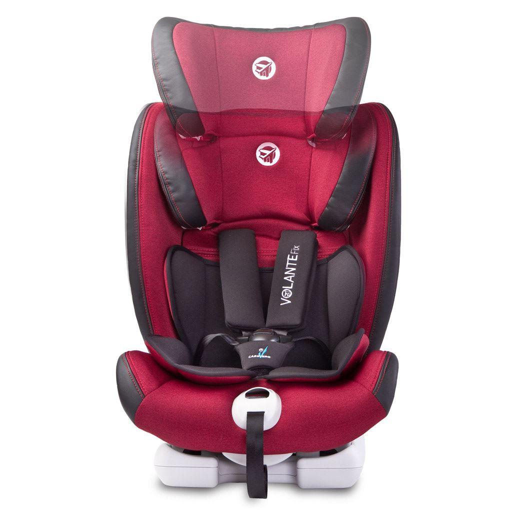 Autosedačka CARETERO Volante Fix Limited burgundy 2018