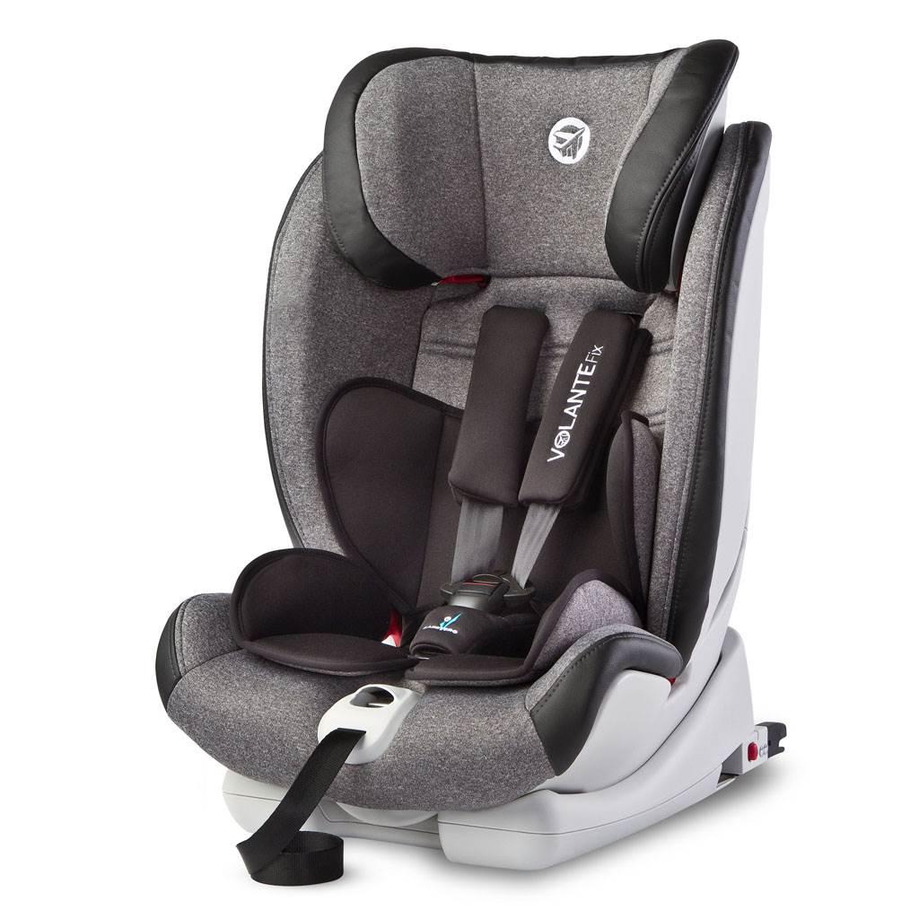 Autosedačka CARETERO Volante Fix Limited grey 2018