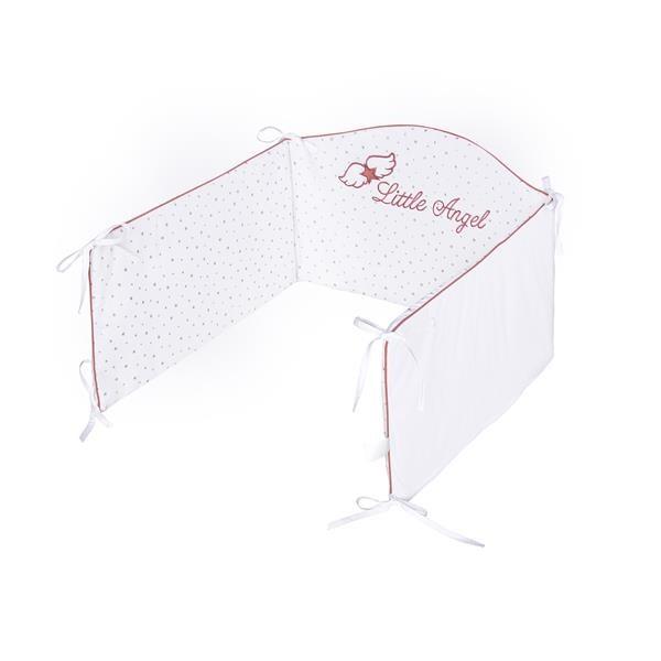 6-dielne posteľné obliečky Belisima Angel Baby 100/135 ružové