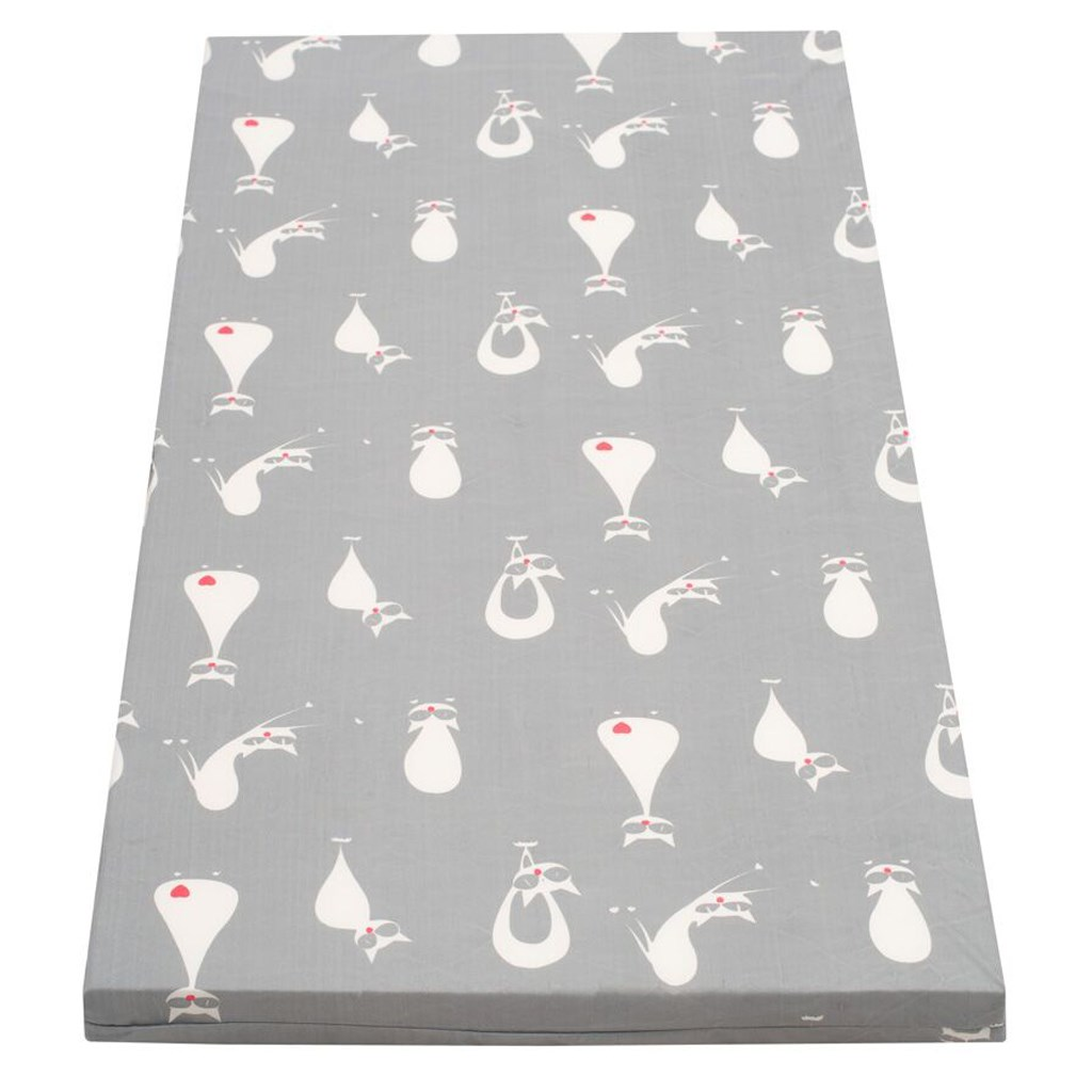 Detský penový matrac New Baby 120x60 sivý - rôzne obrázky