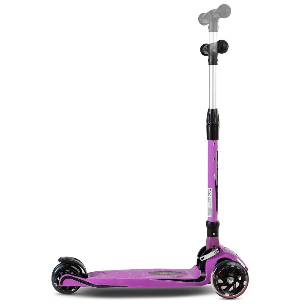 Detská kolobežka Toyz Carbon purple