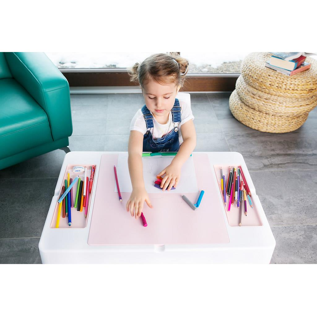 b222292ed62e Detská sada stolček a stolička Multifun multicolor ...