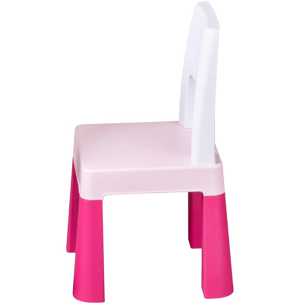 Detská sada stolček a stolička Multifun pink