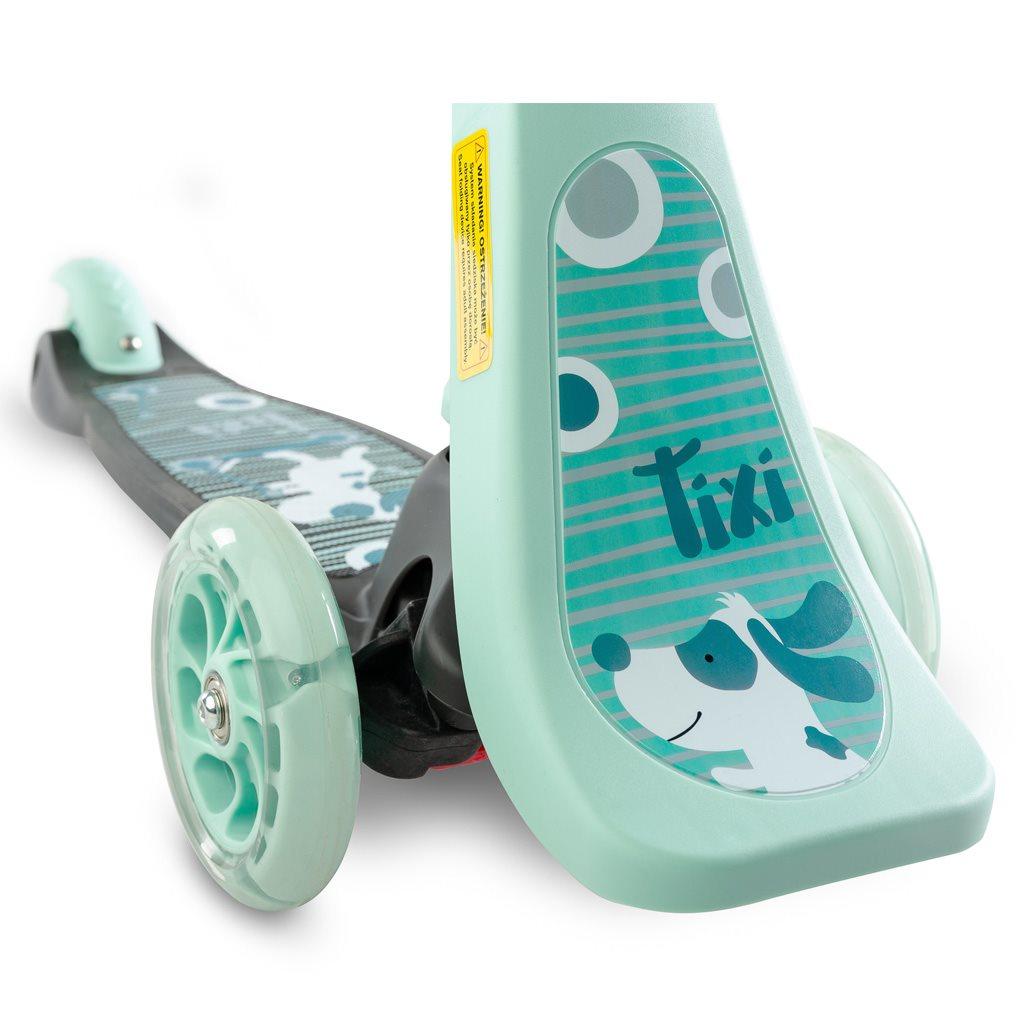 Detská kolobežka 2v1 Toyz Tixi mint