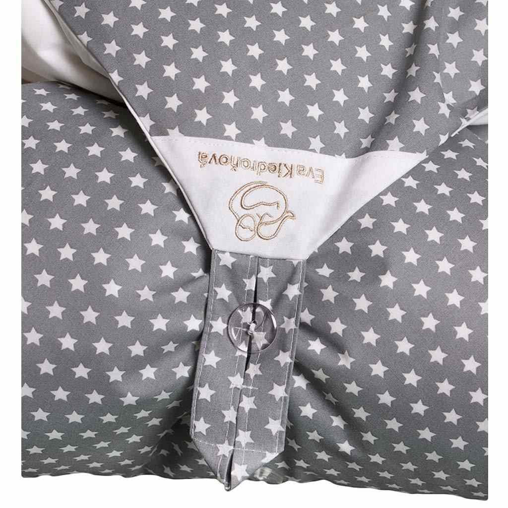 Obliečka sivá s hviezdičkami na zavinovačku Dráčik