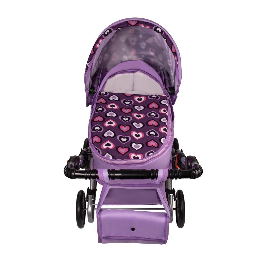 Detský kočík pre bábiky 2v1 New Baby Andrea