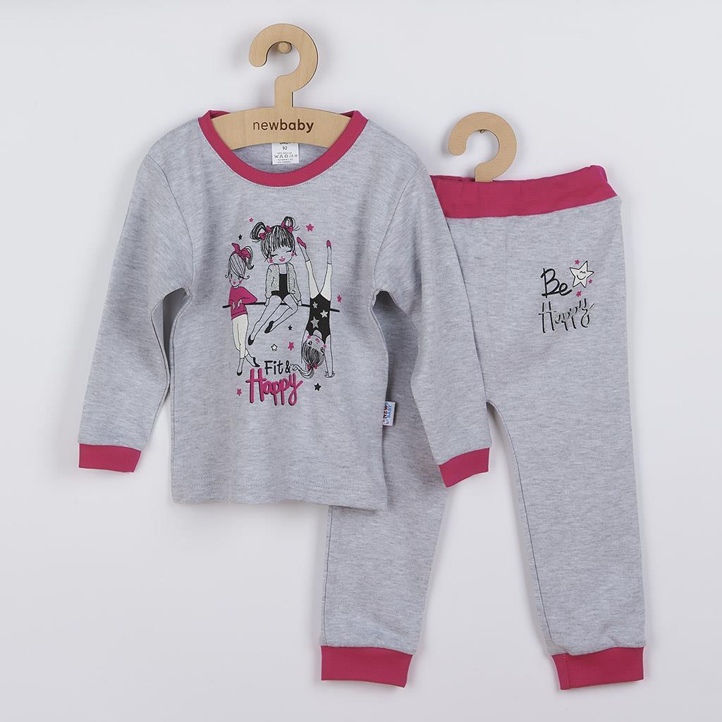Dojčenské tepláčky a tričko Fit and Happy New Baby-74 (6-9m)