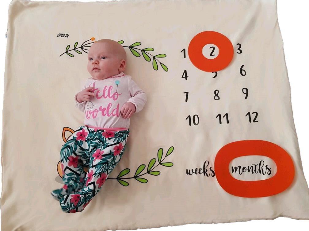 Míľniková deka New Baby smotanová