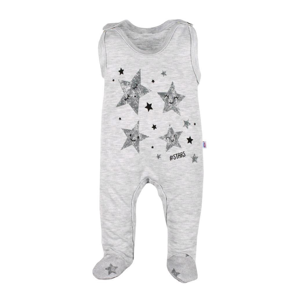 Dojčenské dupačky New Baby Stars-68 (4-6m)
