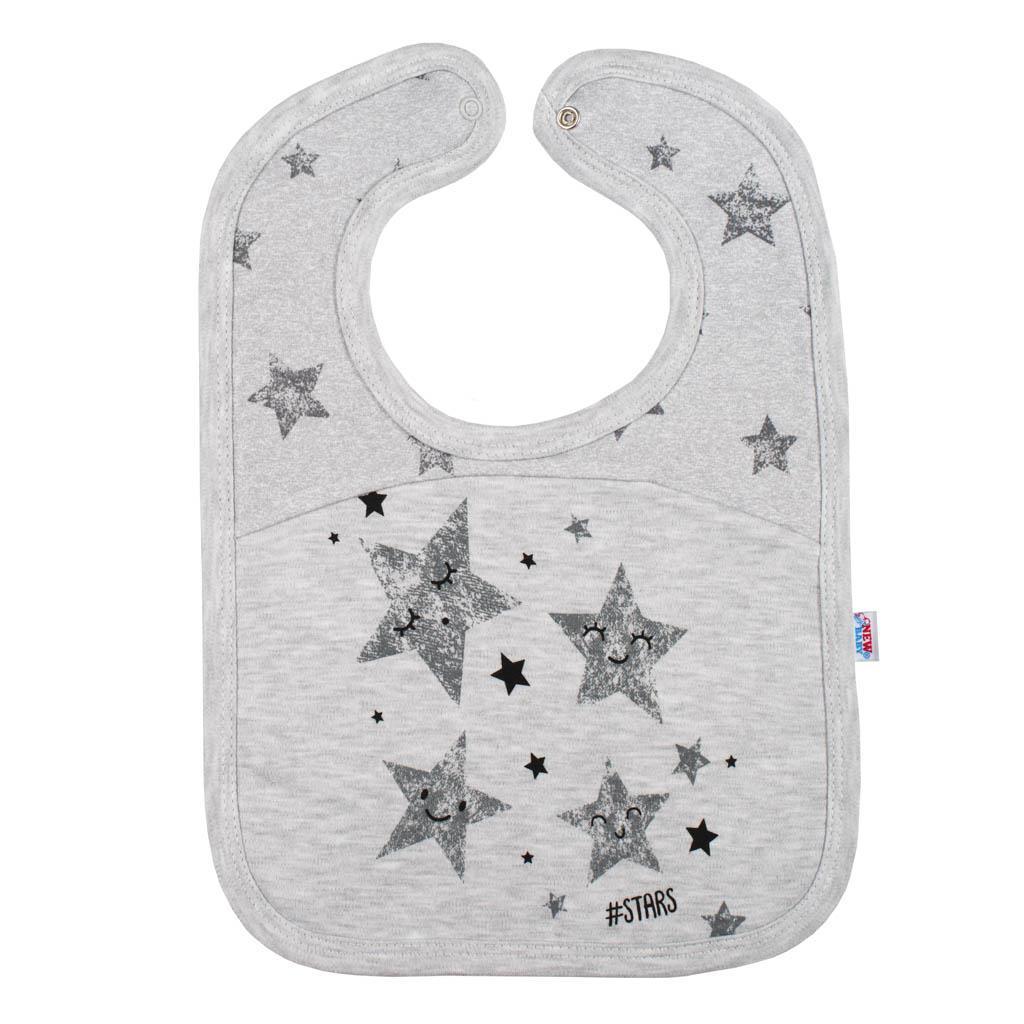 Dojčenský podbradník New Baby Stars