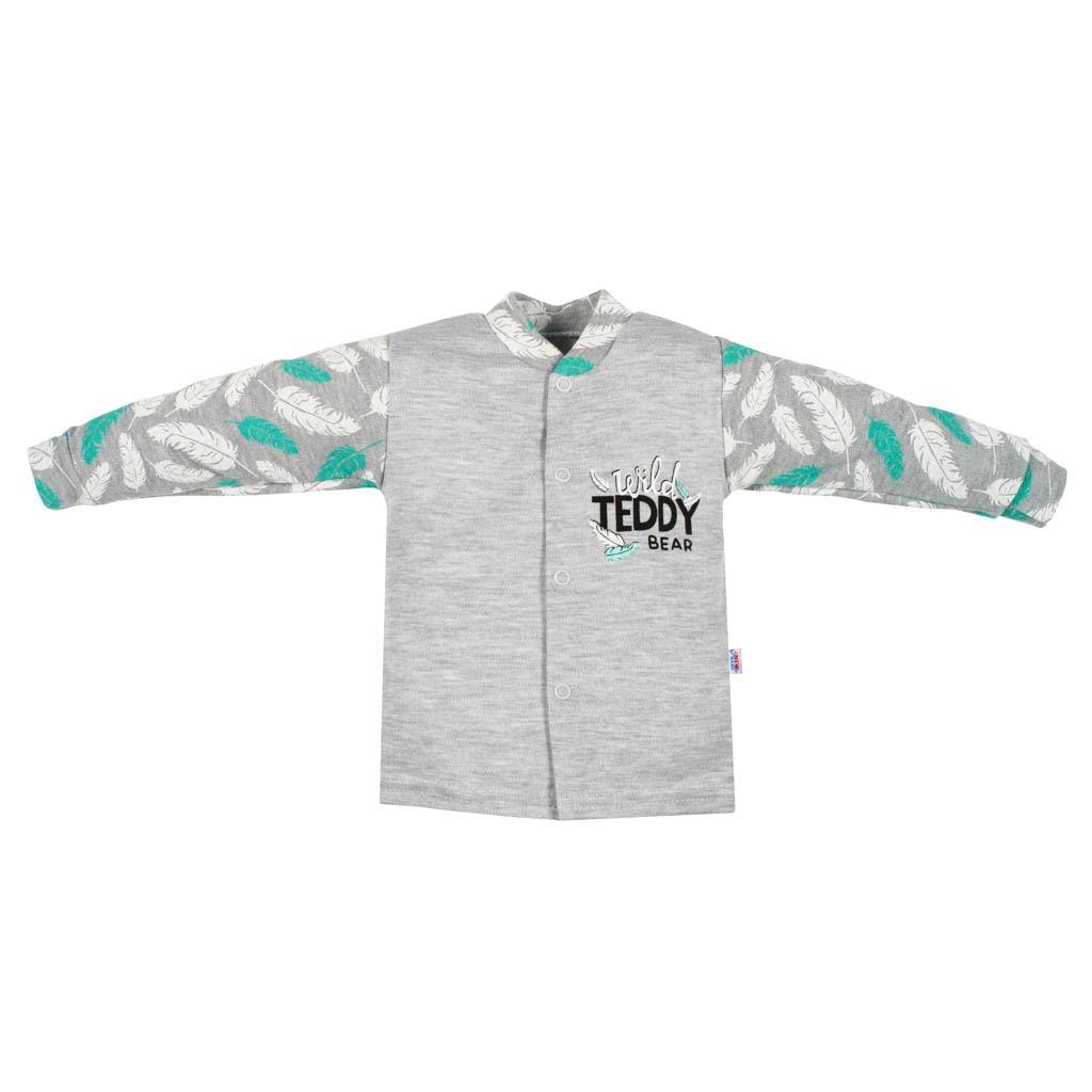 Dojčenský bavlnený kabátik New Baby Wild Teddy