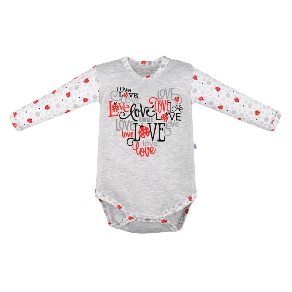 Dojčenské body New Baby LadyBird-86 (12-18m)