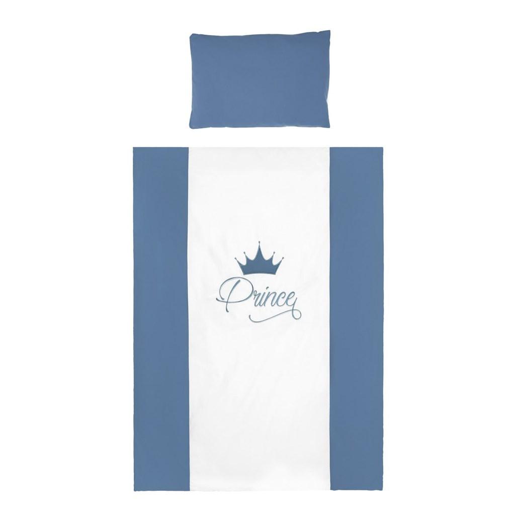 2-dielne posteľné obliečky Belisima Royal Baby 100/135 modré