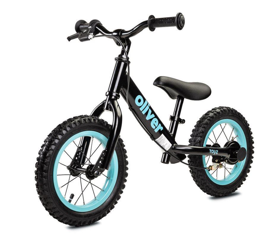 Detské odrážadlo bicykel Toyz Oliver black