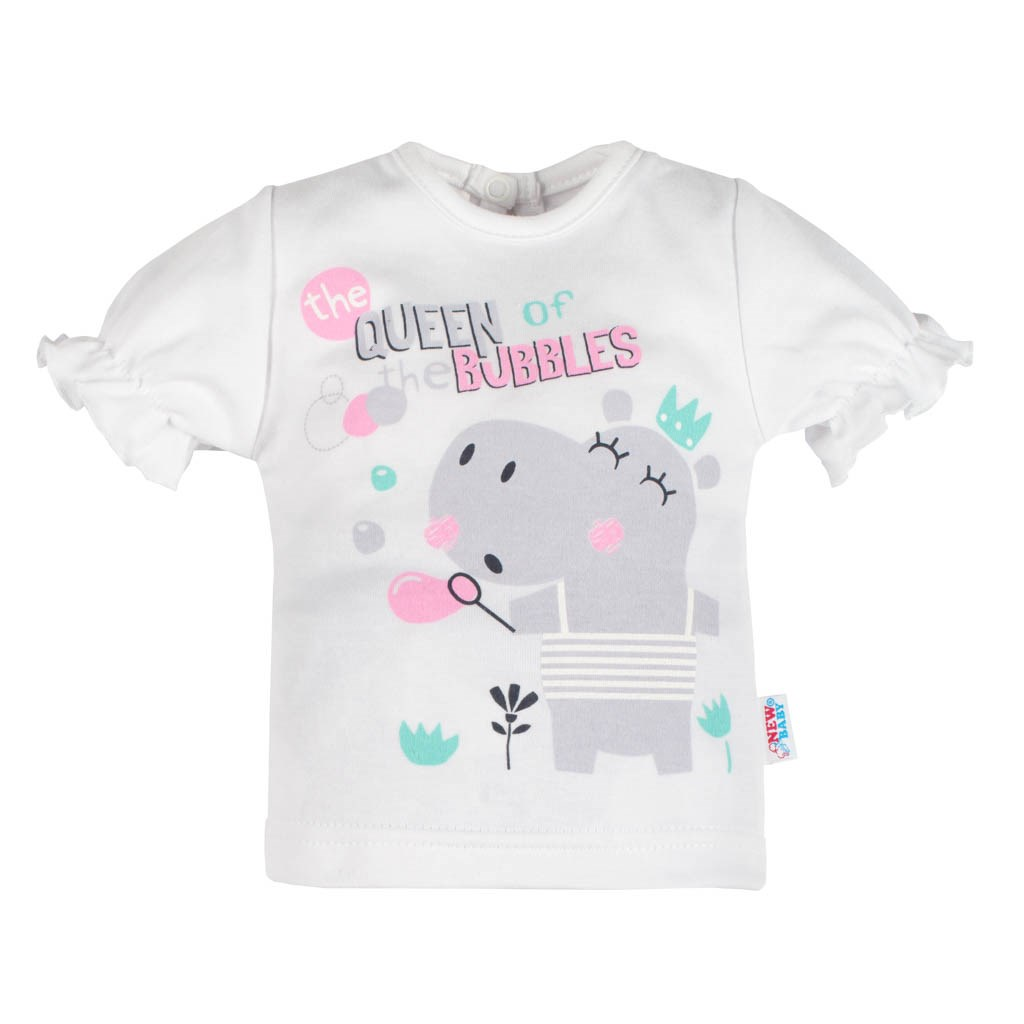 Dojčenské tričko s krátkym rukávom a tepláčky New Baby Queen