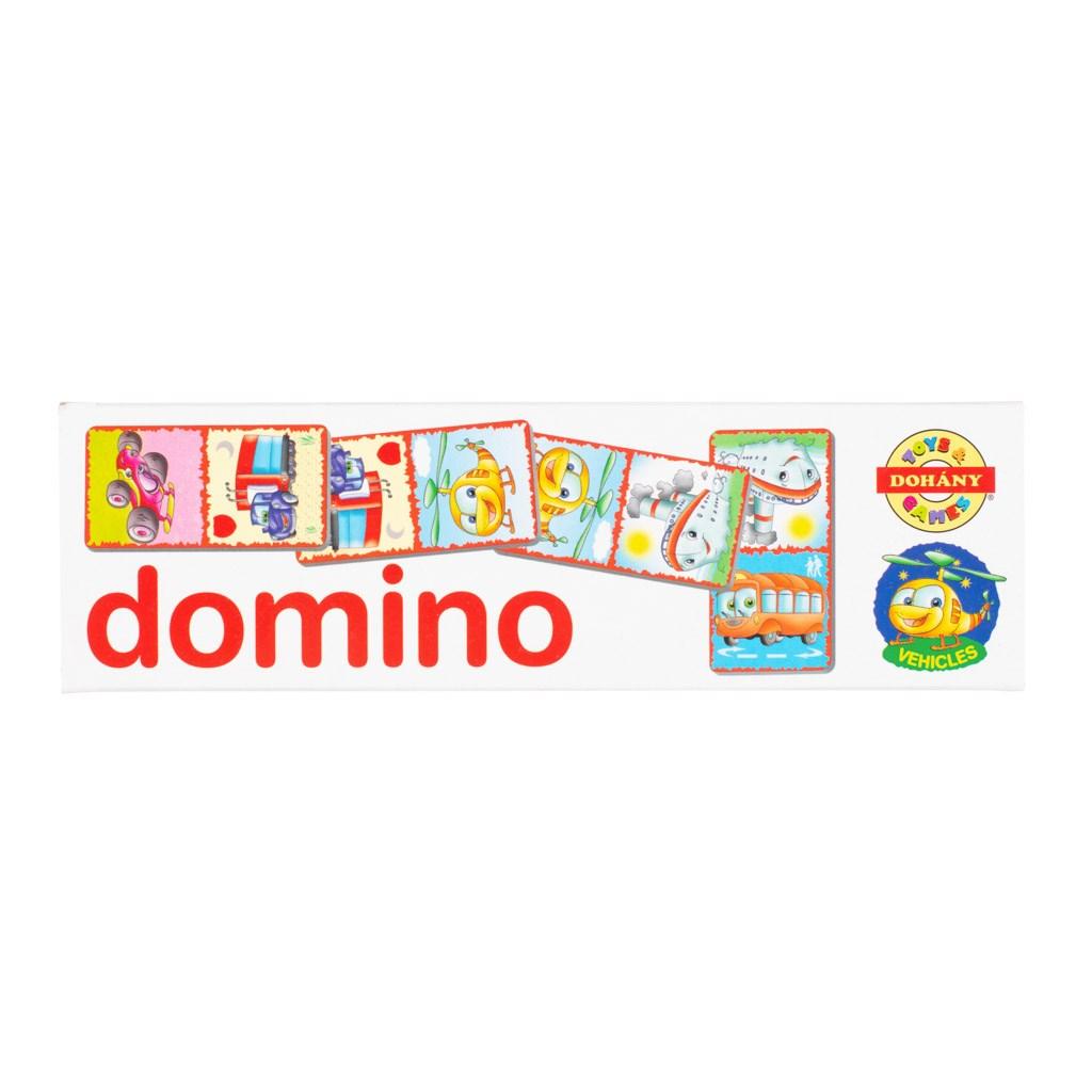 Detské domino Vehicles