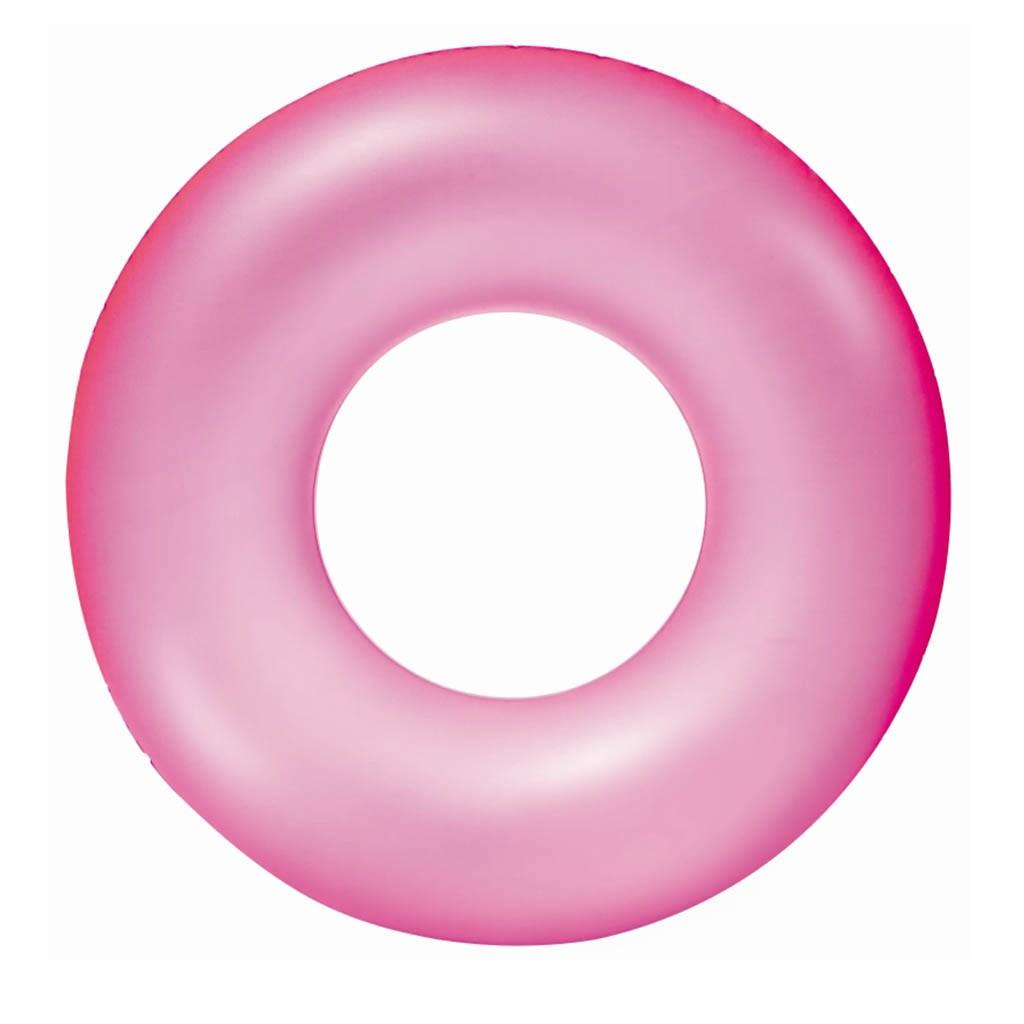 Detský nafukovací kruh Bestway ružový