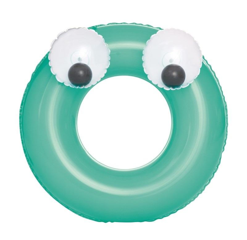 Detský nafukovací kruh Bestway Big Eyes zelený
