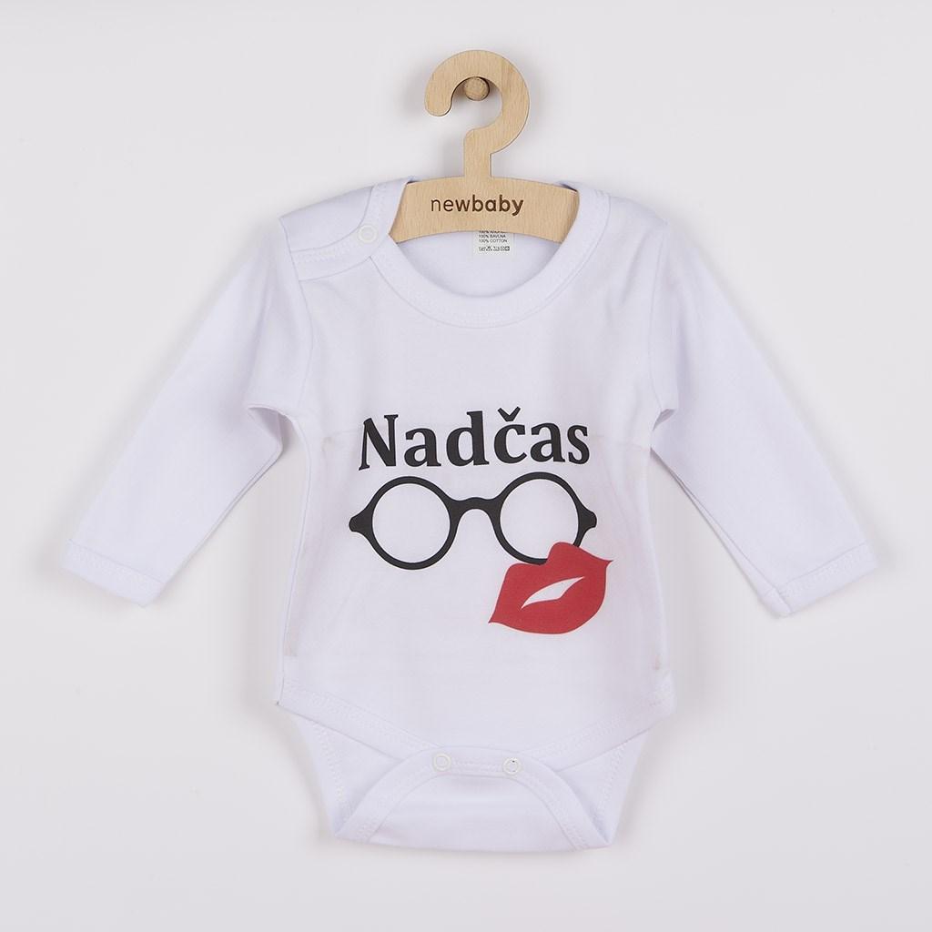 Body s potlačou New Baby Nadčas-80 (9-12m)