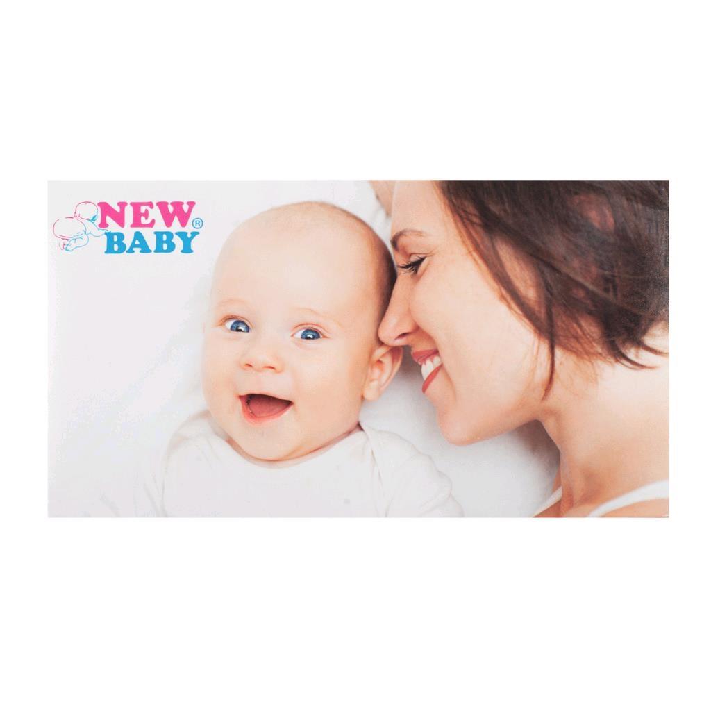 Polovystužená dojčiaca podprsenka New Baby Eva 75D biela