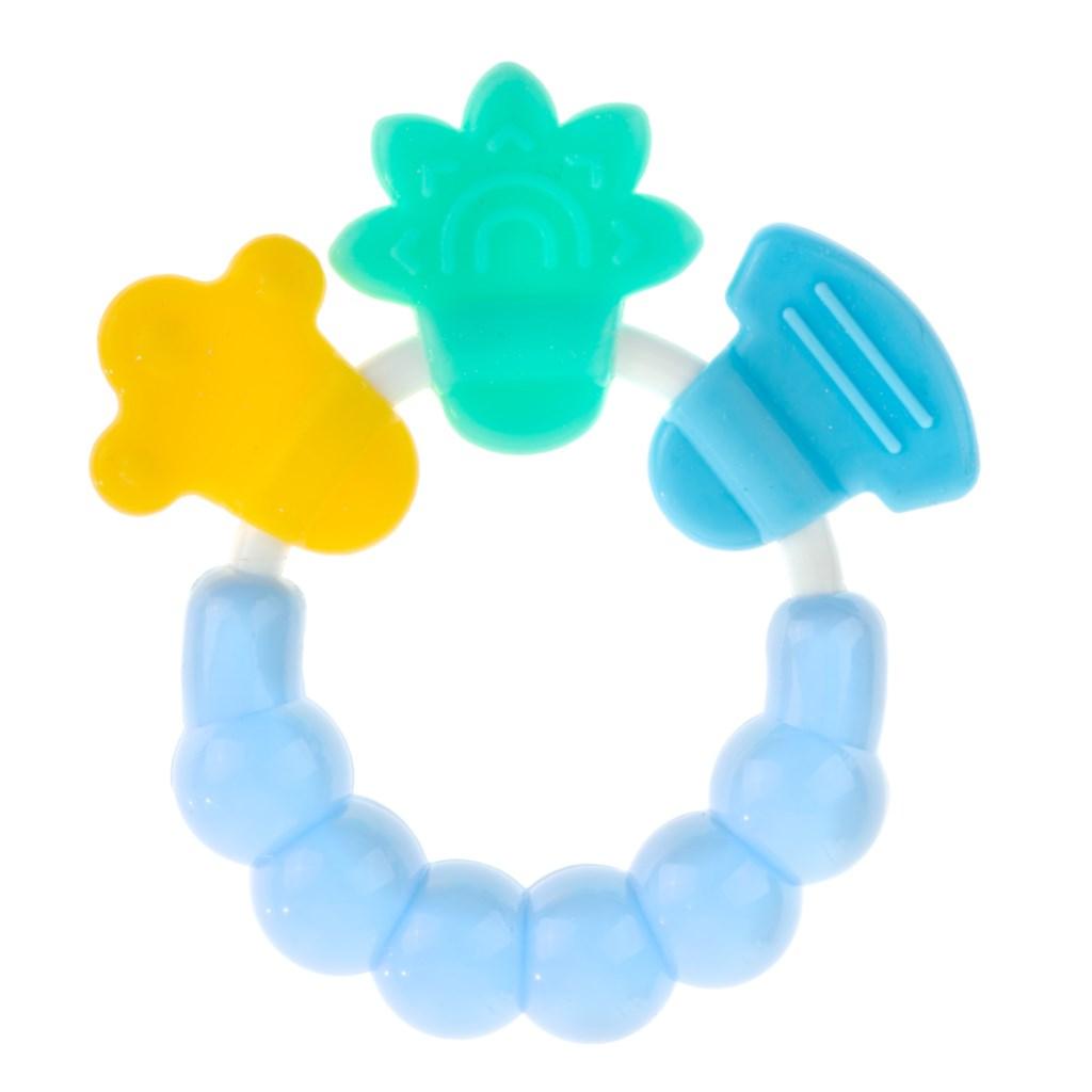 Hrkálka-hryzátko Akuku modré
