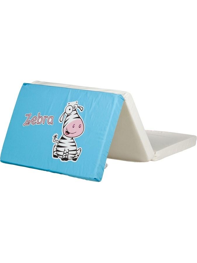 Skladacia matrac do postieľky CARETERO Zebra