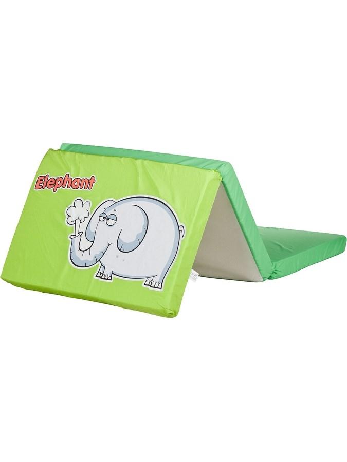 Skladacia matrac do postieľky CARETERO Elephant