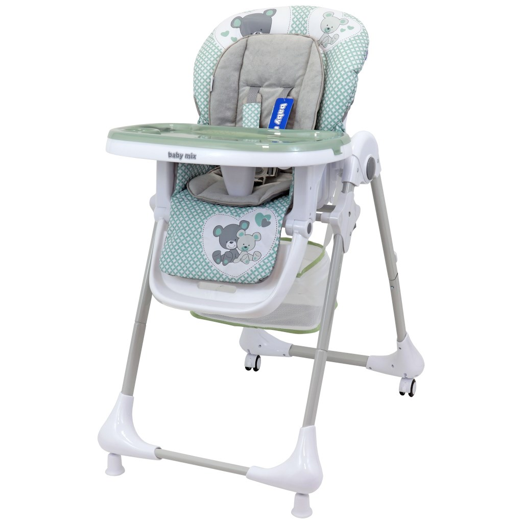 Jedálenská stolička Baby Mix Infant green