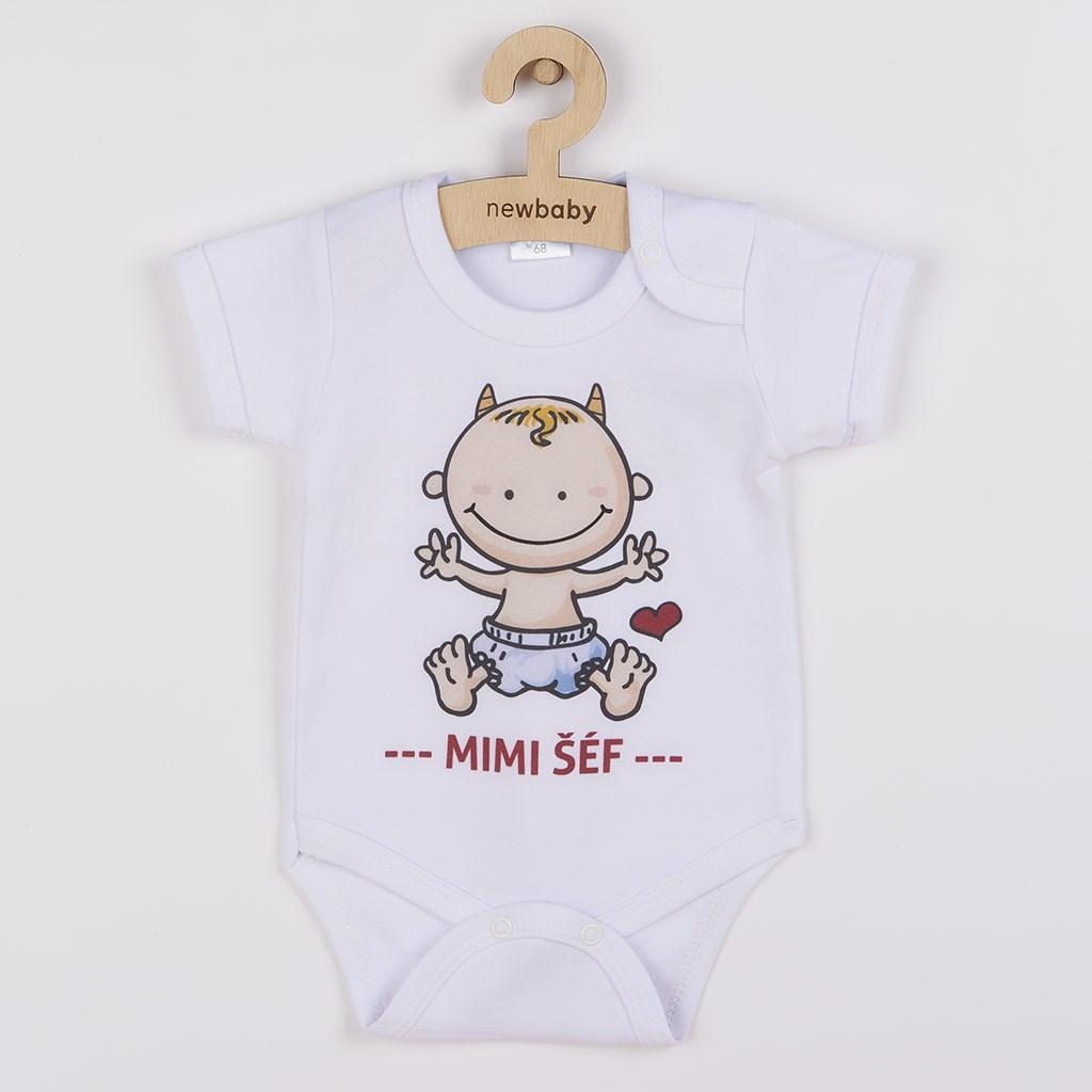 Body s potlačou New Baby MIMI ŠÉF