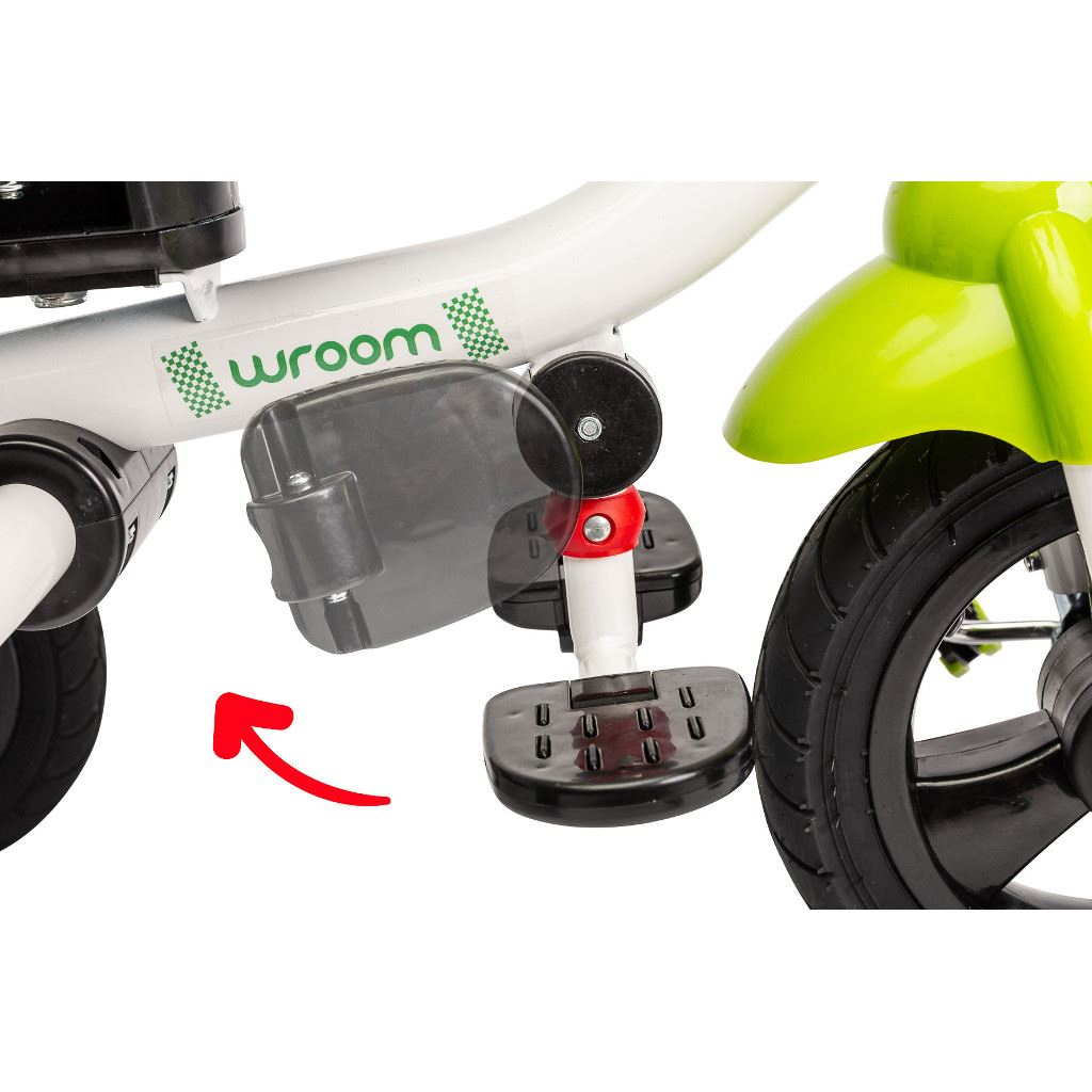 Detská trojkolka Toyz WROOM green 2019