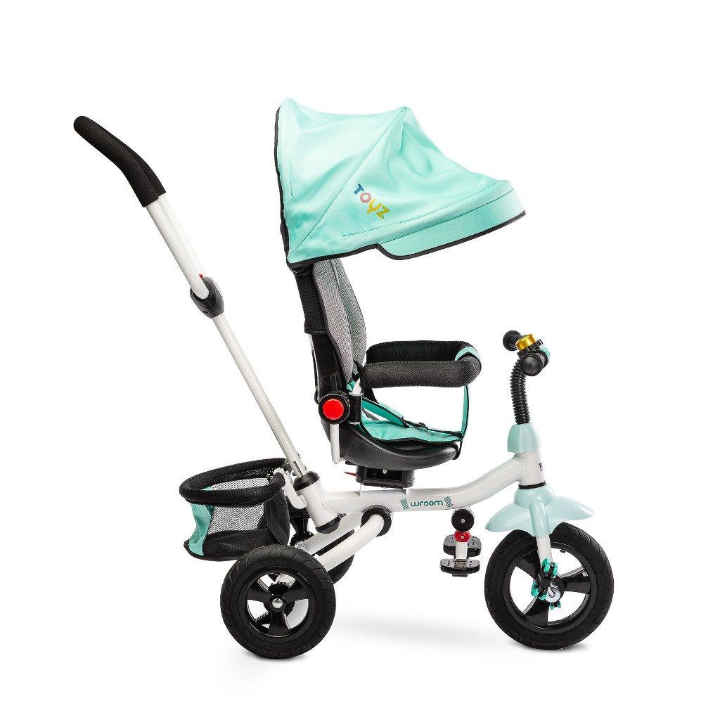 Detská trojkolka Toyz WROOM turquoise 2019