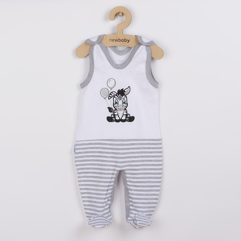 Dojčenské bavlnené dupačky New Baby Zebra exclusive-80 (9-12m)