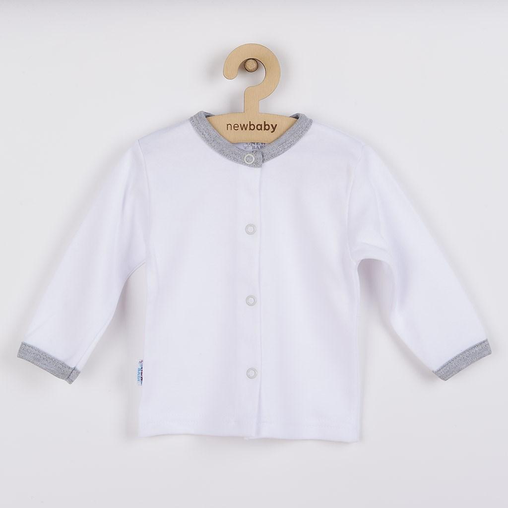 Dojčenský bavlnený kabátik New Baby Zebra exclusive