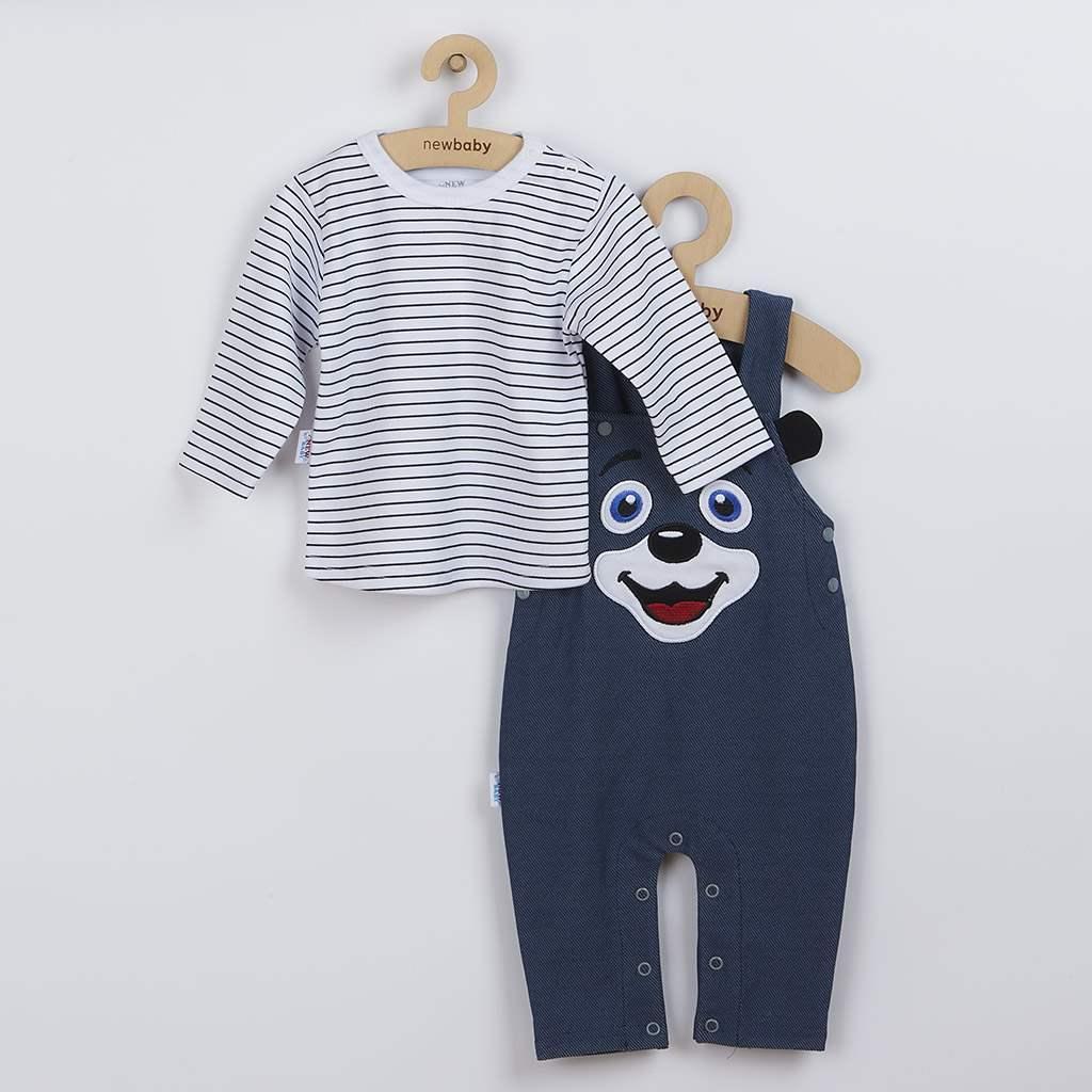 2-dielna dojčenská súprava New Baby For Babies modrá-74 (6-9m)