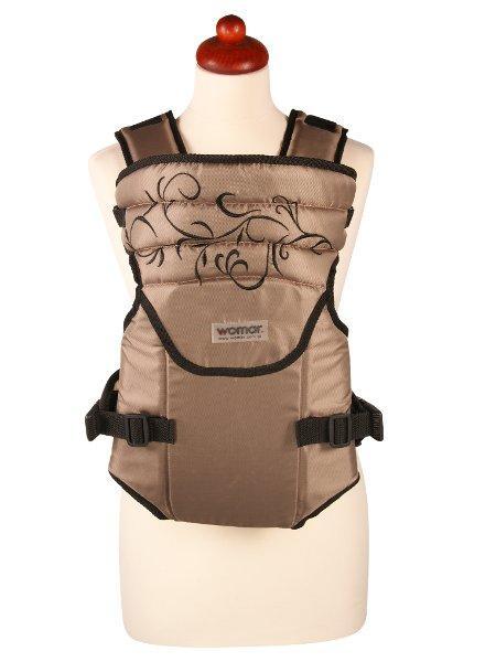 Nosítko Womar Zaffiro Sunny béžové s výšivkou (poškodený obal)