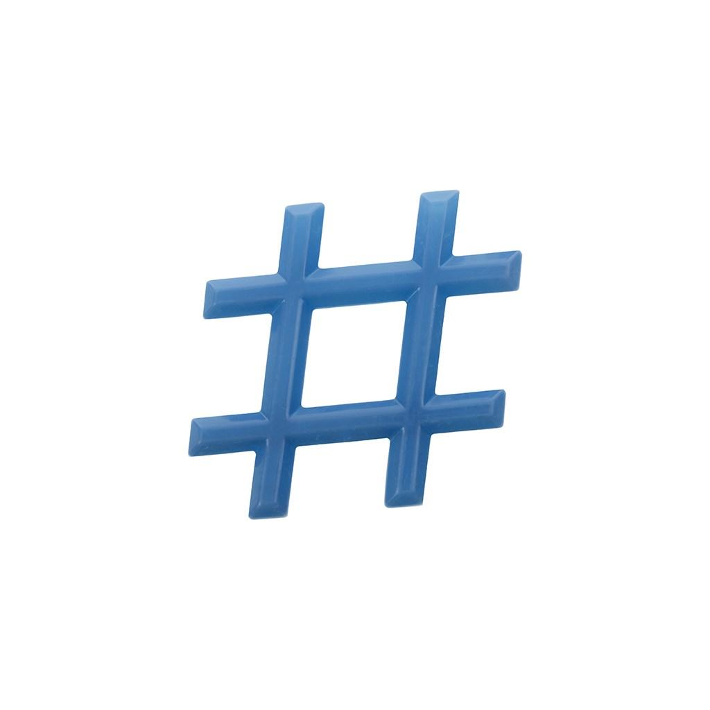 Chladiace hryzátko Akuku Hashtag modré