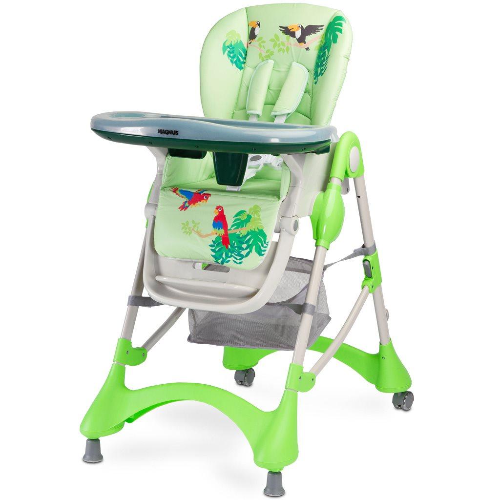 Jedálenská stolička CARETERO Magnus New green (poškodený obal)