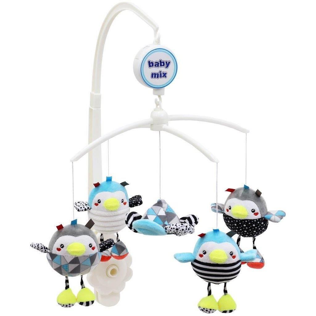 Kolotoč nad postieľku Baby Mix Tučniaky