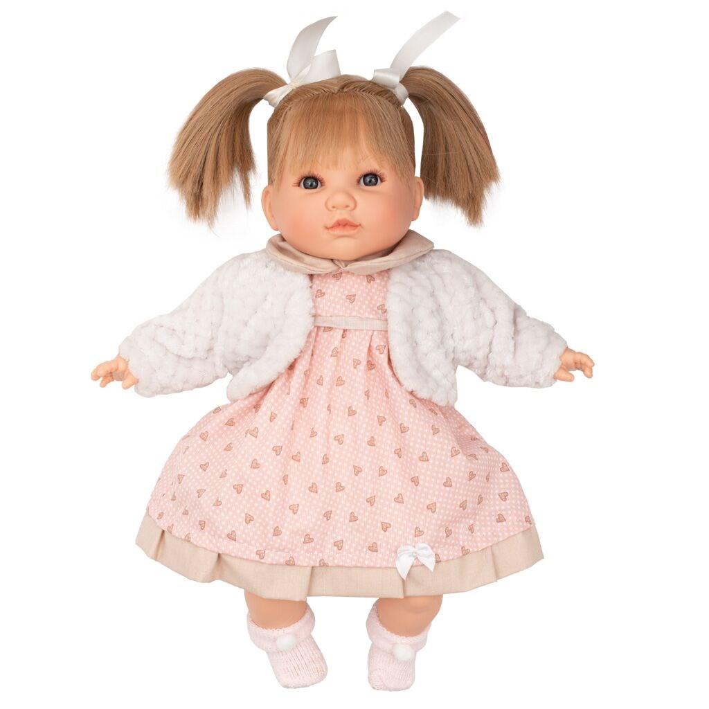 Luxusná hovoriaca detská bábika-dievčatko Berbesa Natálka 40cm