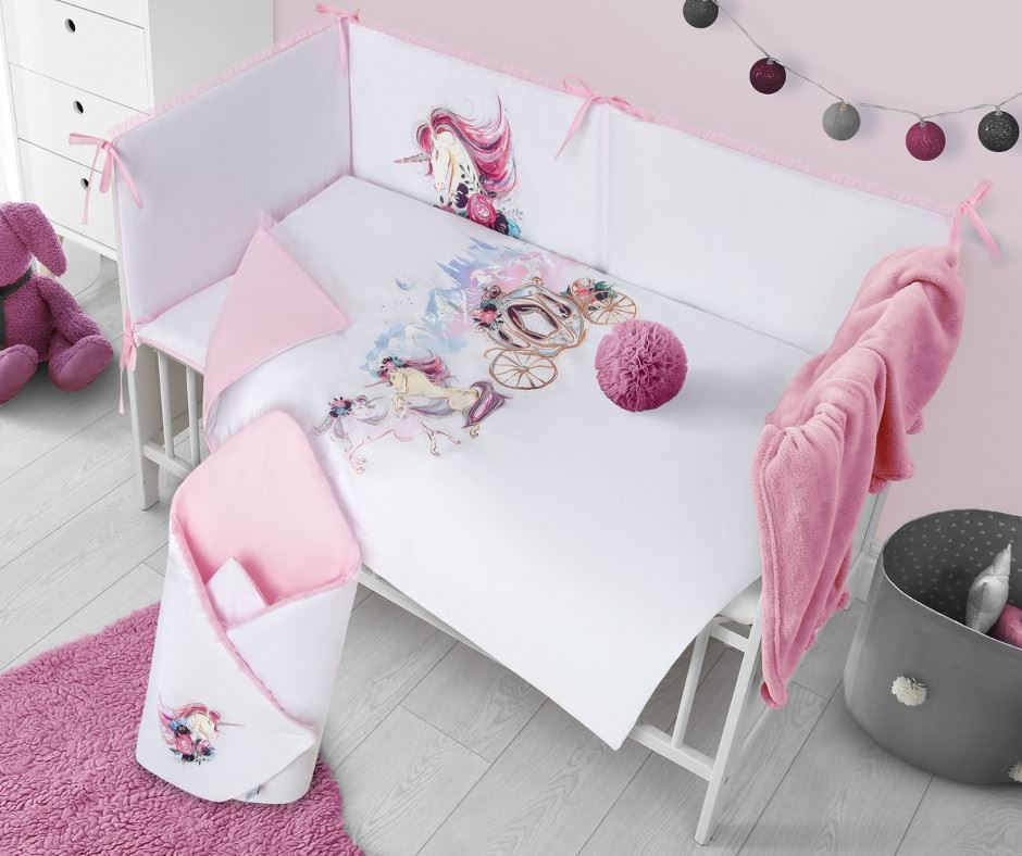 3-dielne posteľné obliečky Belisima Unicorn 100/135