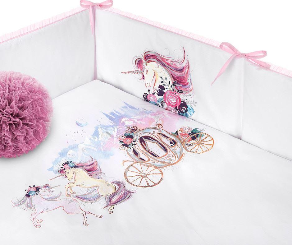 5-dielne posteľné obliečky Belisima Unicorn 100/135
