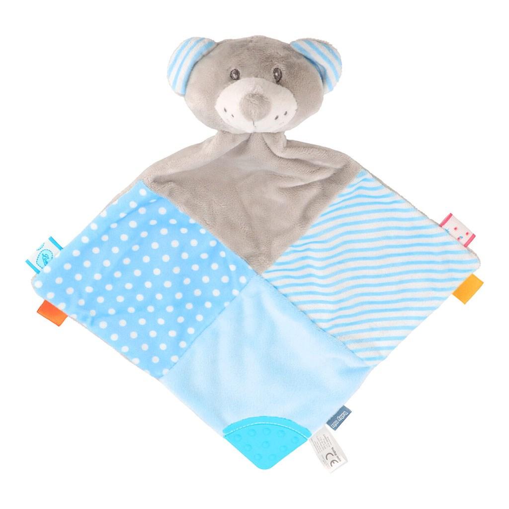 Zaspávačik Medvedík Baby Mix modrý